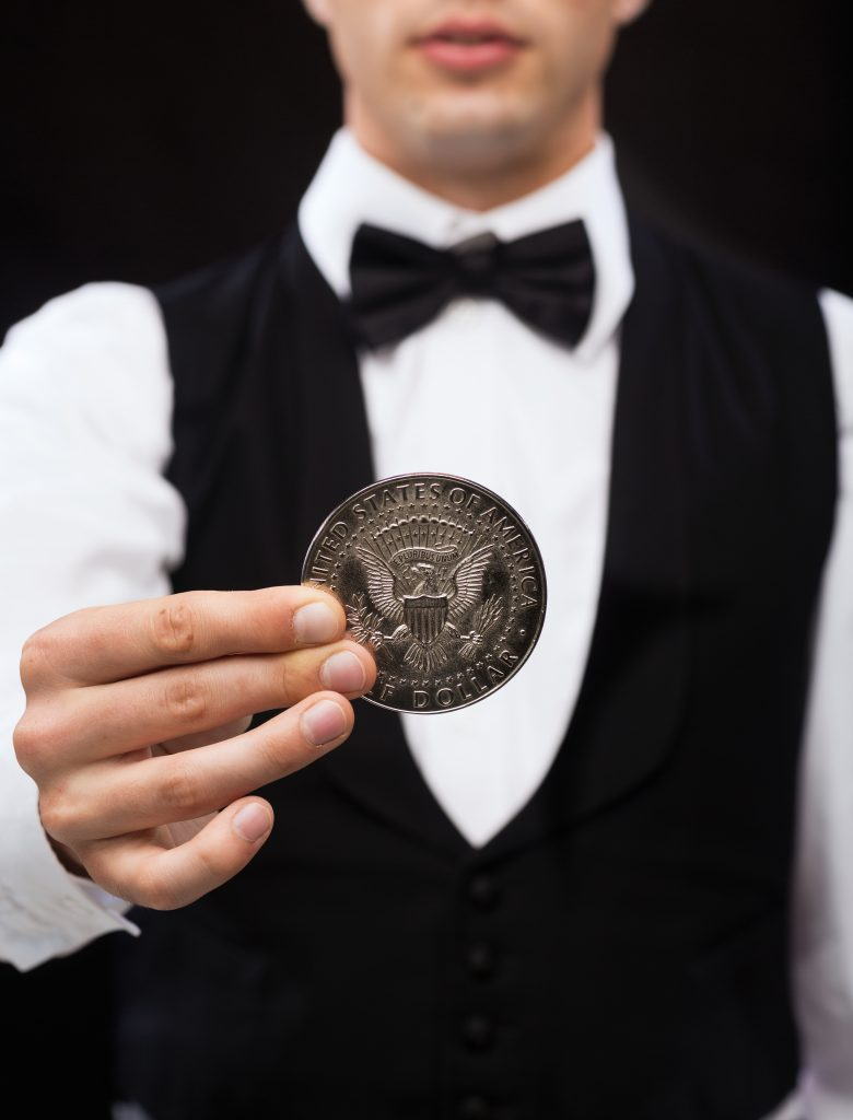 5 coin trick